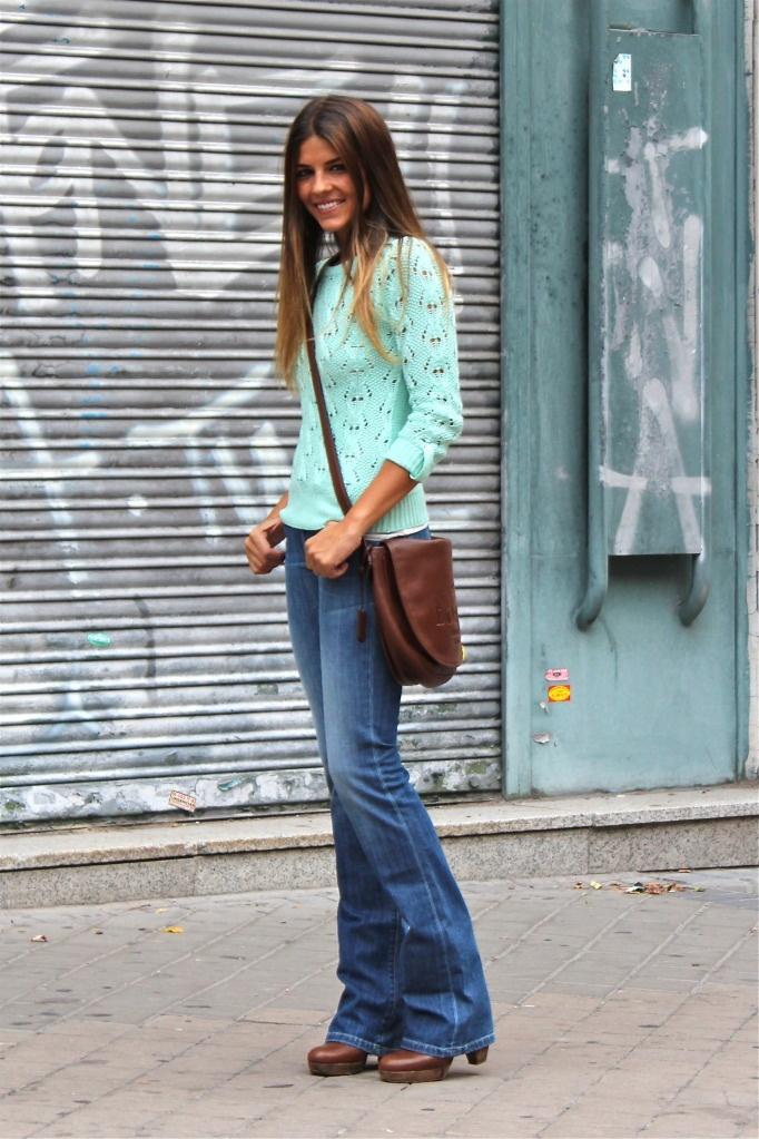 boca de sino jeans