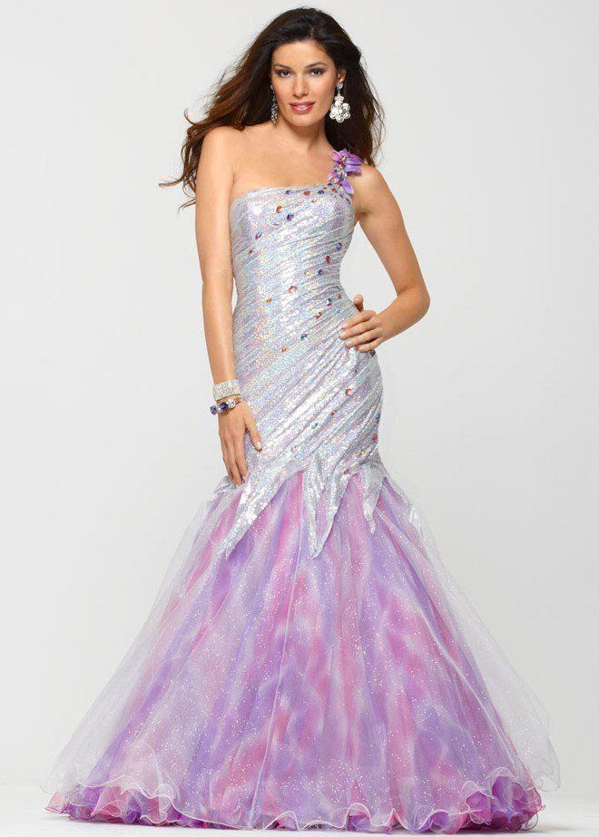 vestido lindo sereia