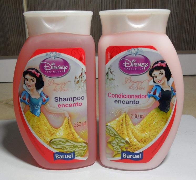 branca de neve shampoo e condicionador