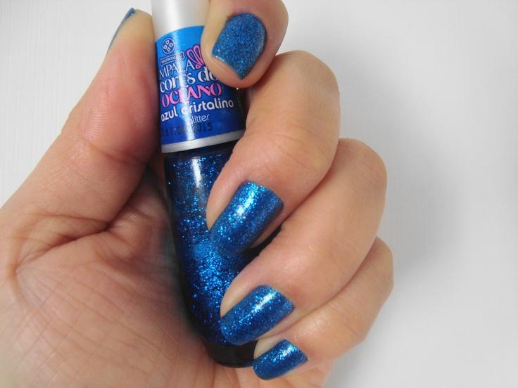 unha azul 2