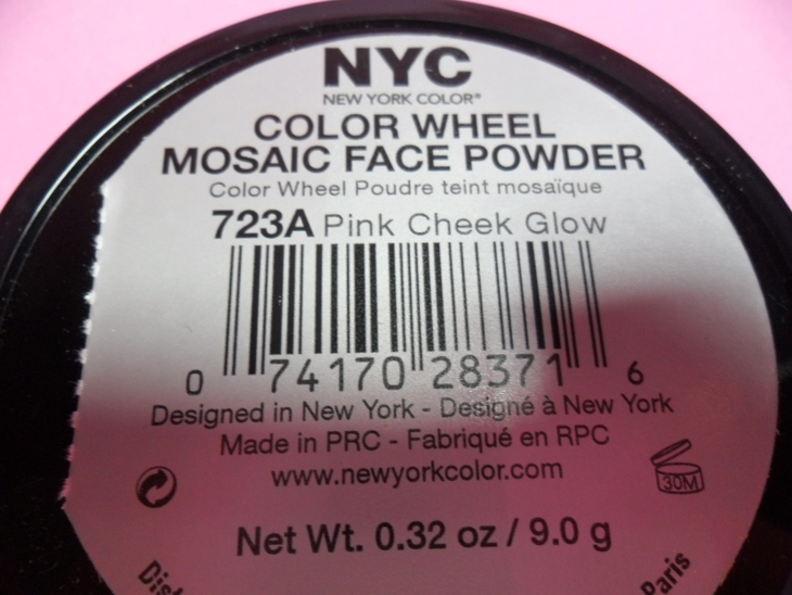 pink cheek blush