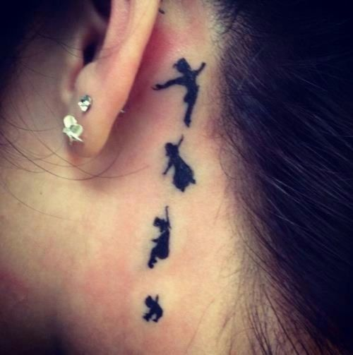 tatuagem peter pan
