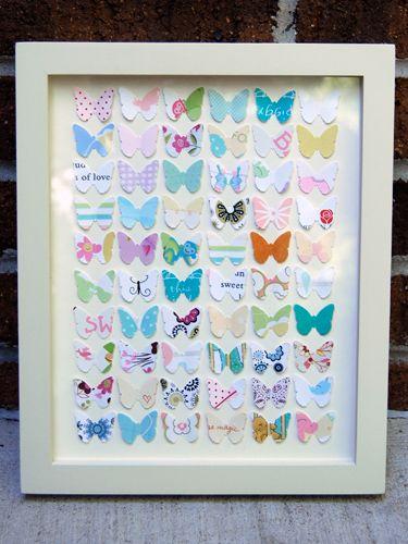 quadro borboletas