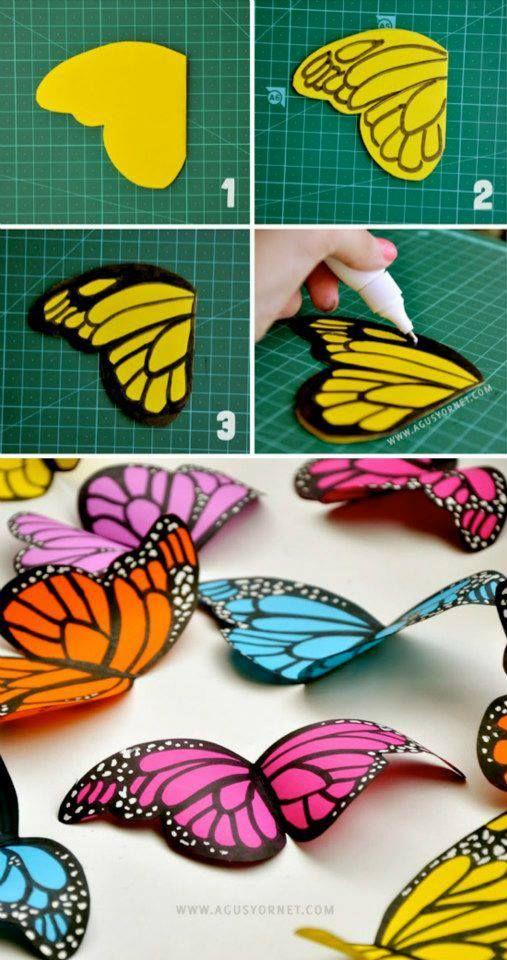 borboletas molde