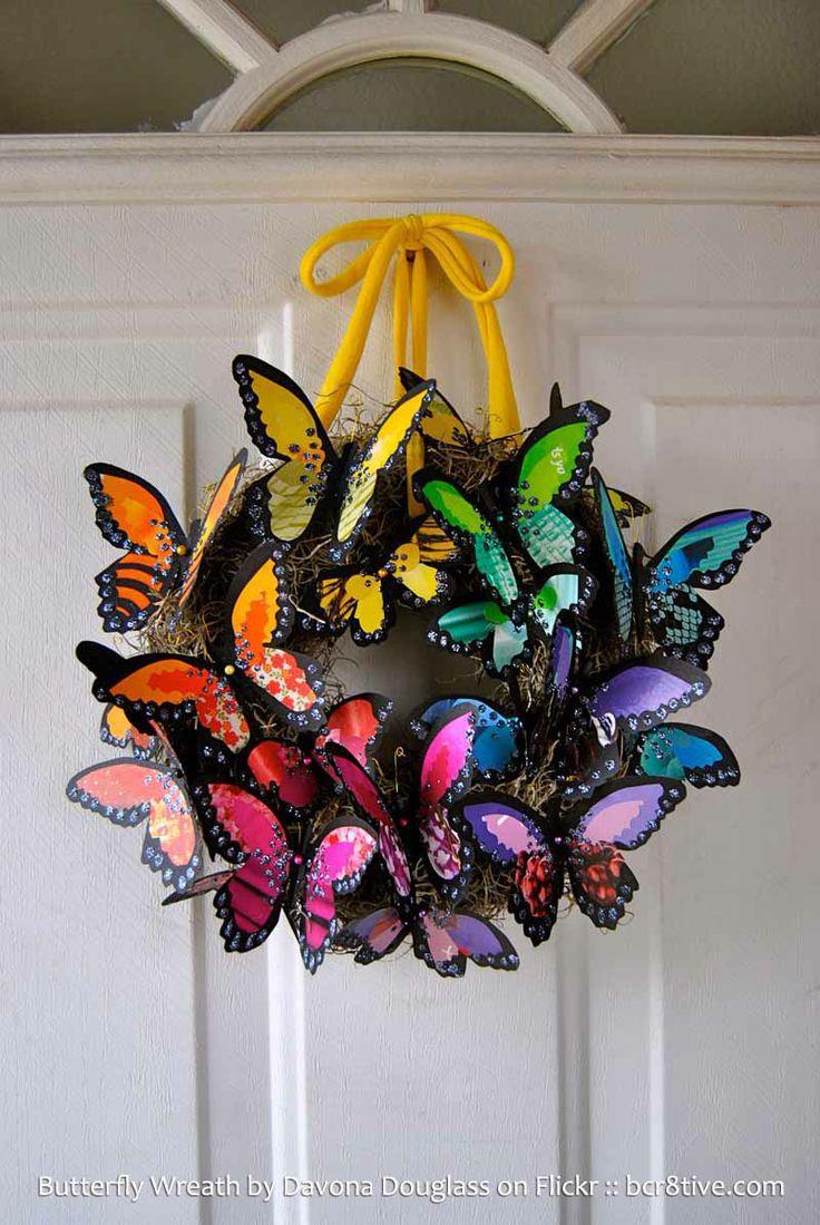 borboletas vaso