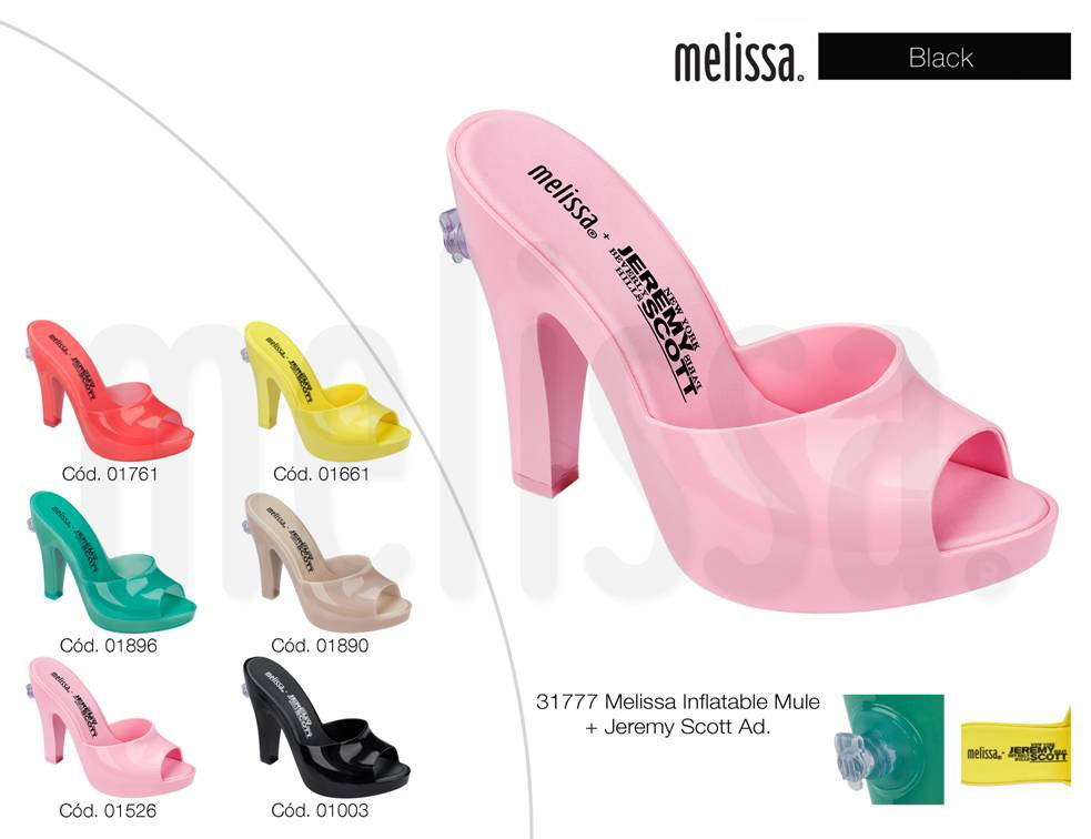 melissa inflatable mule jeremy