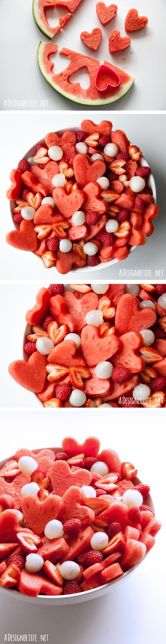 comidas romanticas fruta