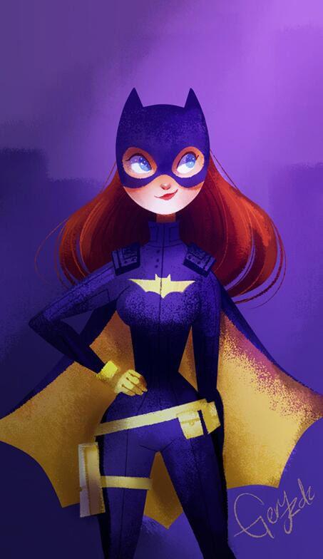 wallpaper celular batgirl