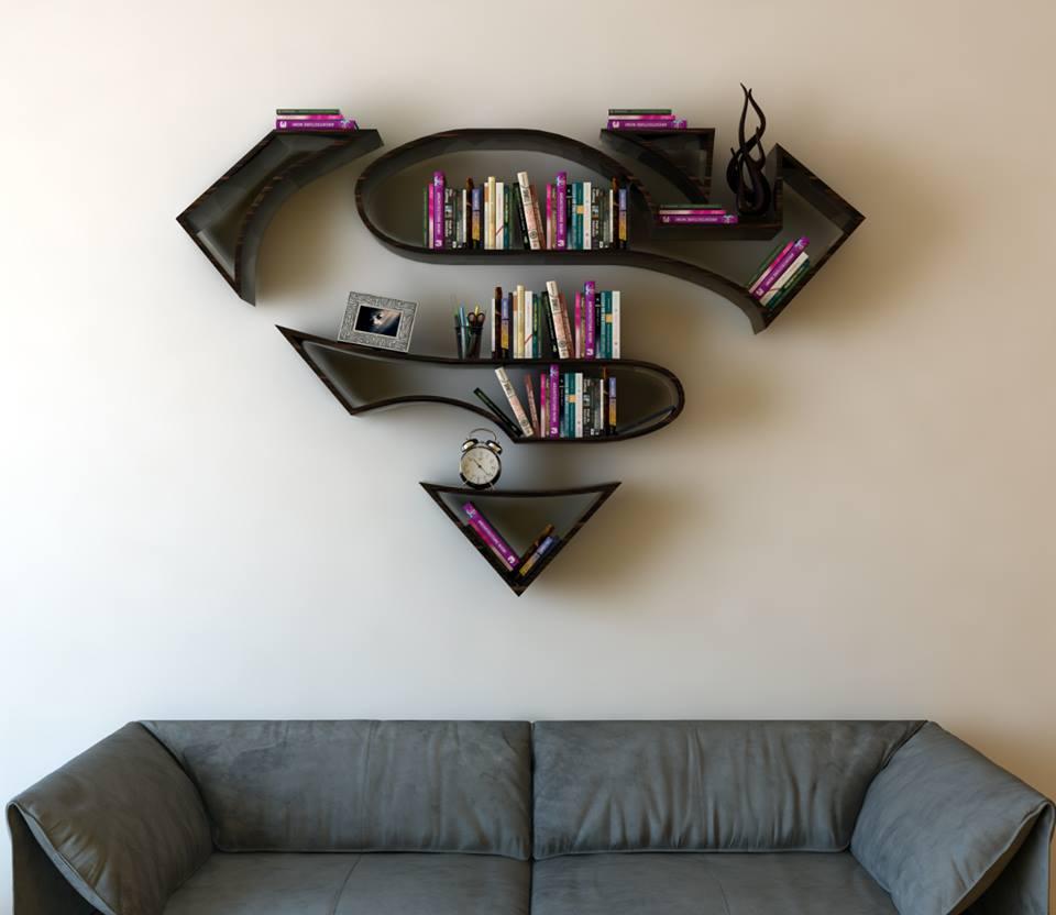 prateleiras superman
